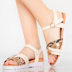 Sandale dama Jogi bej