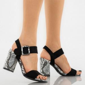 Sandale dama Joline negre