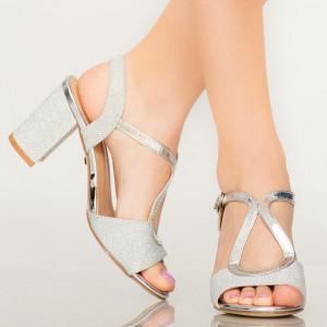 Sandale dama Joon argintii