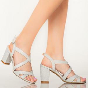 Sandale dama Manty argintii