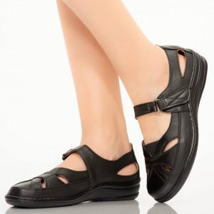 Sandale dama Rito negre