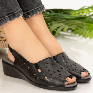 Sandale dama Sams negre