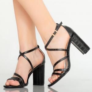 Sandale dama Silas negre