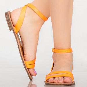 Sandale dama Sou portocalii