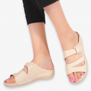 Slippers lady Aes beige