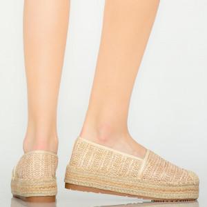 Tudy bézs alkalmi cipő