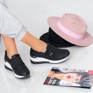 Γυναικεία πάνινα παπούτσια Black Cain