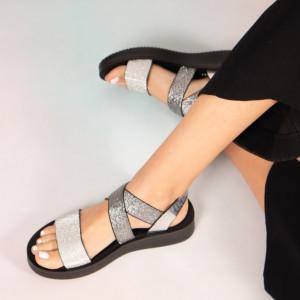 Γυναικεία σανδάλια Grey Plex