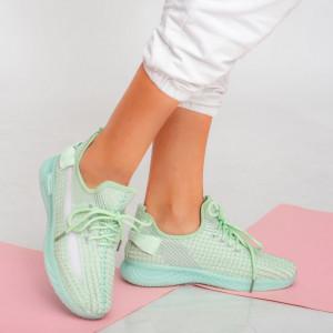 Дама Adidasi Larry green