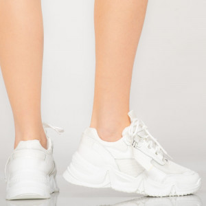 Adidasi dama Grega albi