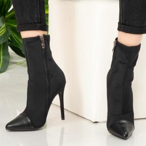 Black Biv women's ankle boots