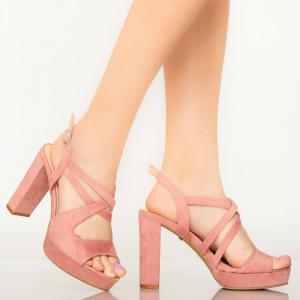Digo rózsaszín női szandál