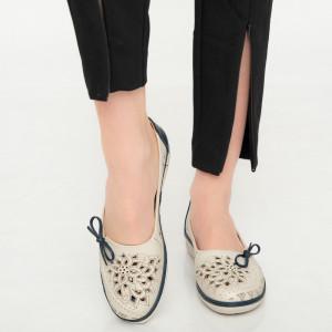 Kék Aco női cipő