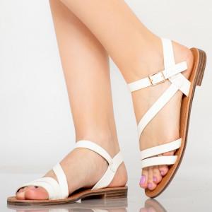 Lady Rika white sandals