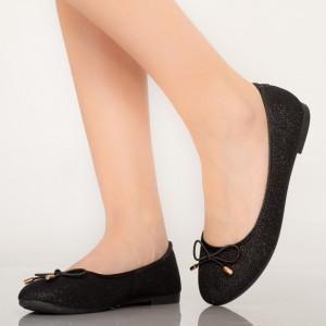 Lenu fekete alkalmi cipő