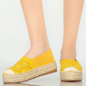 Mondy sárga alkalmi cipő