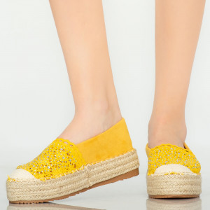 Mondy yellow casual shoes