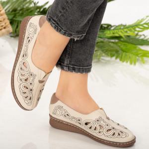 Női cipő Gon bézs