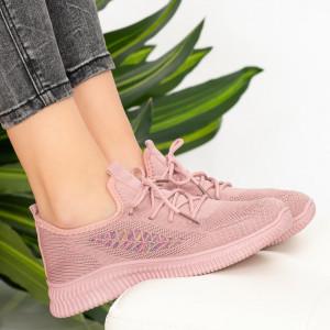 Női rózsaszín lábú cipők