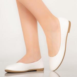 Pantofi casual Bart albi