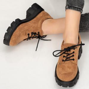 Pantofi casual Esef camel