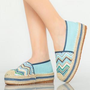 Pantofi casual Mony albastri