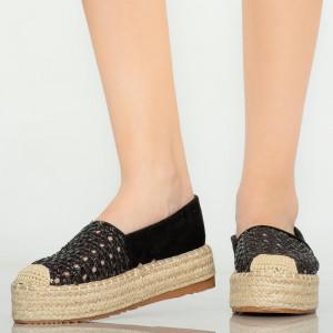 Pantofi casual Remy negri