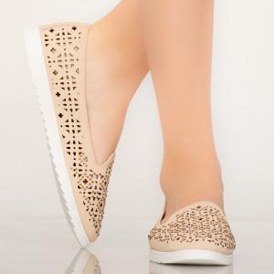 Pantofi casual Vela bej