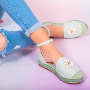 Pantofi dama Hust verzi
