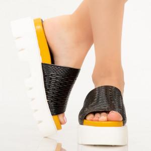 Papuci dama Amix negri