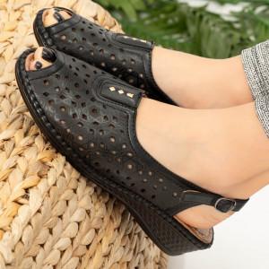 Sandale dama Alva negre