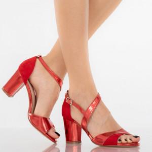 Sandale dama Elora rosii