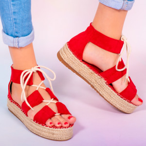 Sandale dama Hevo rosii
