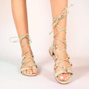 Sandale dama Jed verzi