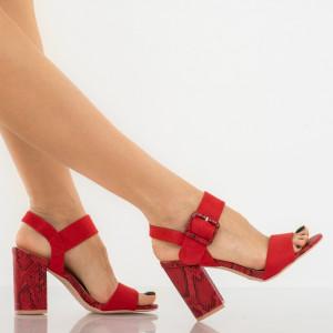 Sandale dama Joline rosii