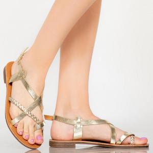 Sandale dama Lex aurii