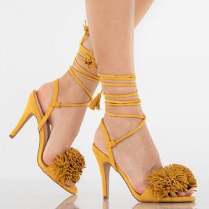 Sandale dama Norina camel