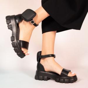 Sandale dama Pers negre