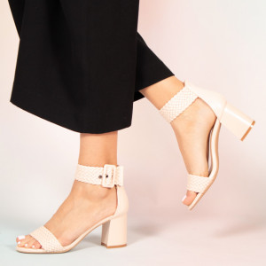 Sandale dama Peto bej