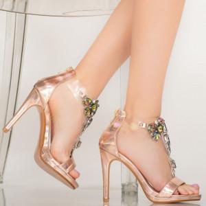 Sandale dama Quen roze