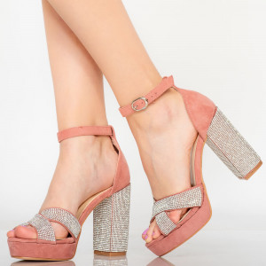 Sandale dama Sofa roz