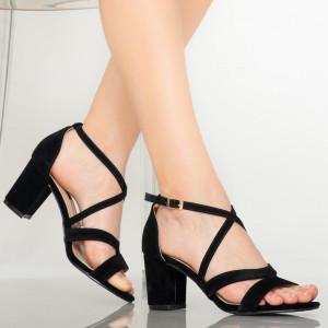 Sandale dama Sybil negre