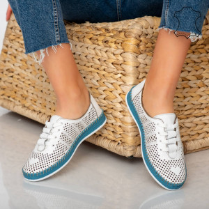 Sup fehér velúr cipő