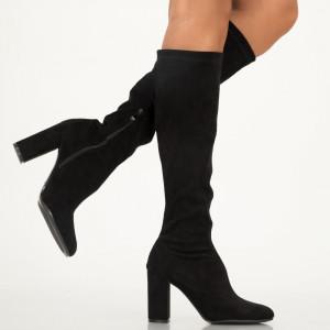 Η γυναικεία μπότες Toby είναι μαύρη