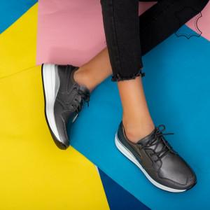 Πάνινα παπούτσια από φυσικό δέρμα Pylo gun