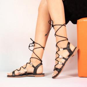 Black Jed lady sandals
