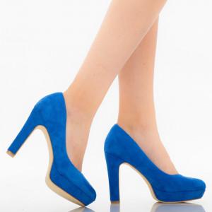 Blue Shamia women's shoes