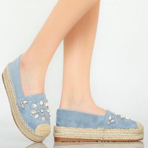 Calla blue casual shoes