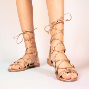 Lady Jed beige sandals