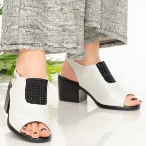 Lady's sandals Sido albe